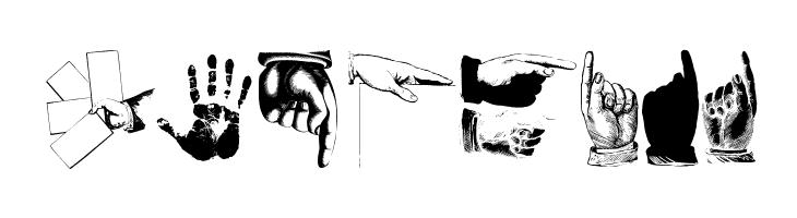 HandsUp  Free Fonts Download