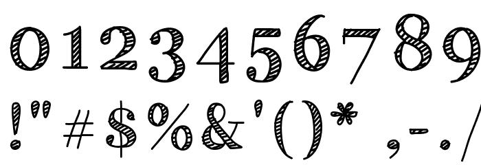 HandyGeorge 字体 其它煤焦