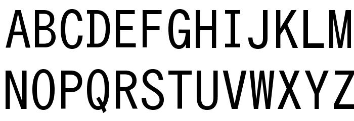 Hangyaku Font UPPERCASE