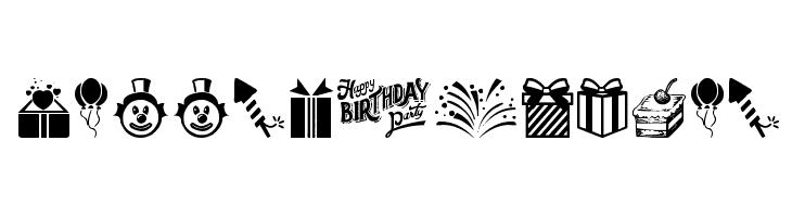 Happy Birthday  Fuentes Gratis Descargar