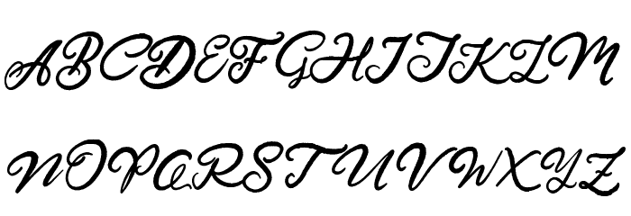 Hardest Style Demo Schriftart Groß