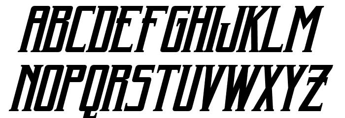 Harker Italic Font UPPERCASE