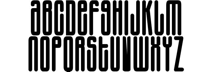Harlem Font UPPERCASE