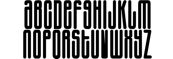 Harlem Font LOWERCASE