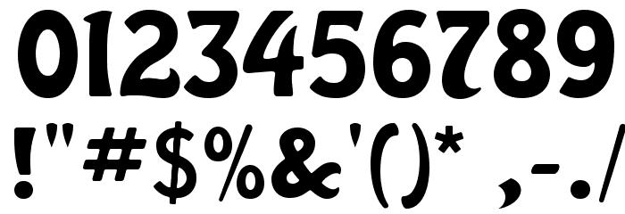 HarlequinFLF-Bold Font OTHER CHARS