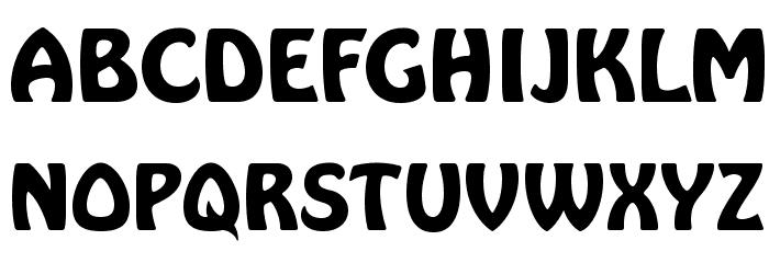 HarlequinFLF-Bold Font UPPERCASE