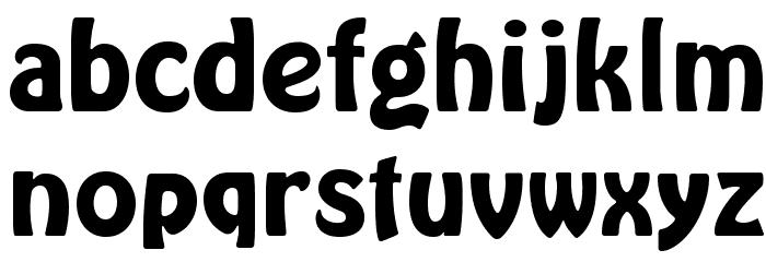 HarlequinFLF-Bold Font LOWERCASE