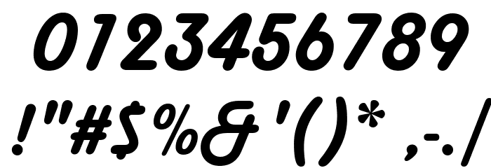 Harlow Solid Italic Font OTHER CHARS