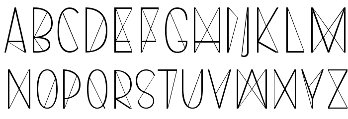Harry Roman Font LOWERCASE