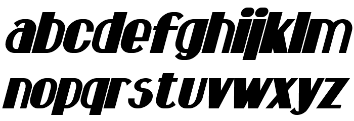 Hastings Bold Italic Fonte MINÚSCULAS