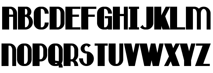 Hastings Bold Font UPPERCASE