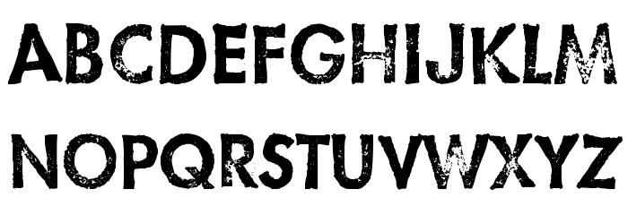 HatCheck- Font UPPERCASE