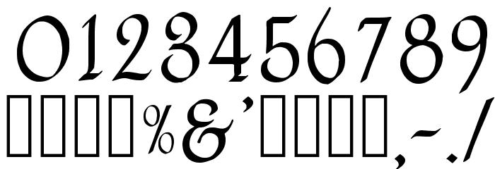 Havenscript Regular Fuentes OTROS CHARS