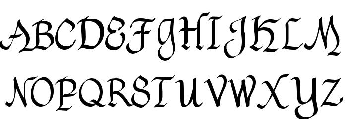 Havenscript Regular Fuentes MAYÚSCULAS