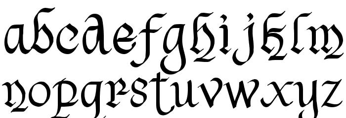 Havenscript Regular Fuentes MINÚSCULAS