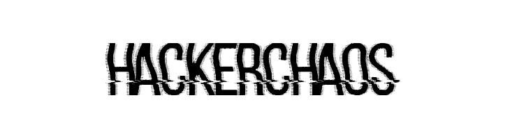 hackerchaos フォント