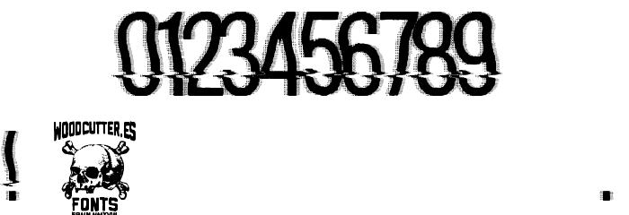 hackerchaos フォント その他の文字