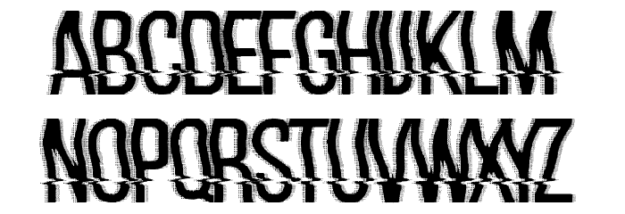 hackerchaos フォント 大文字