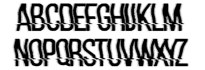 hackerchaos フォント 小文字