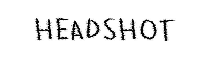 HeadShot  フリーフォントのダウンロード
