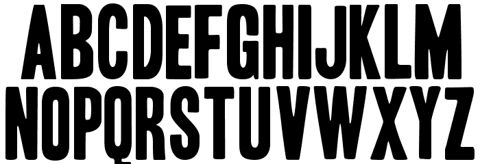 HeadlineHPLHS-One Font UPPERCASE
