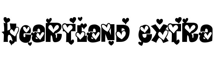 Heartland Extra Font