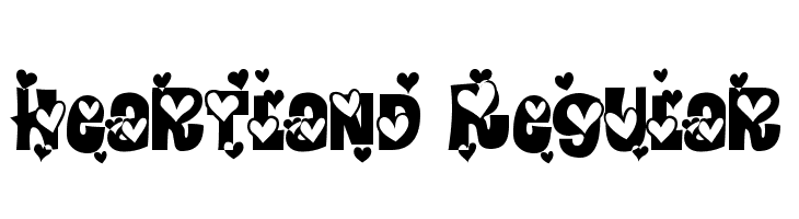 Heartland Regular  Free Fonts Download