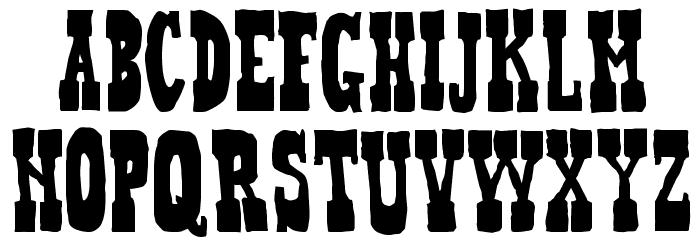 Heffer Font LOWERCASE