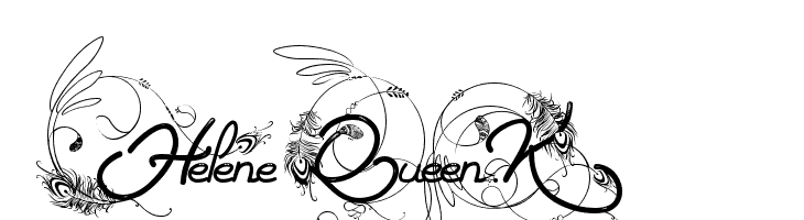Helene  Queen.K  Free Fonts Download