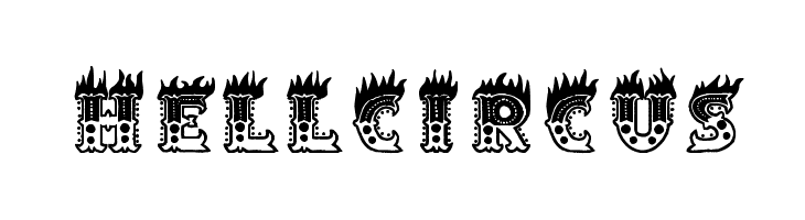 Hell Circus  Free Fonts Download