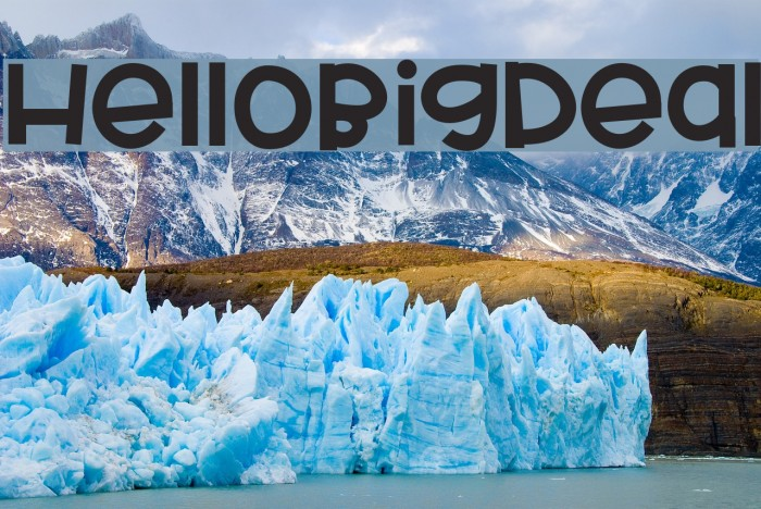 HelloBigDeal Fonte examples
