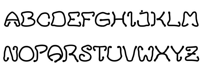 HelloCat Font Litere mari