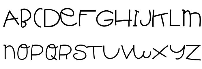 HelloIsh Schriftart Groß