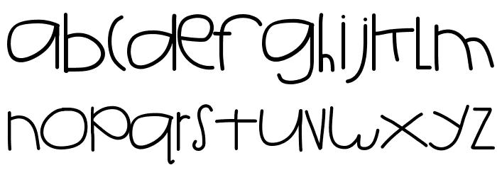 HelloIsh Font LOWERCASE