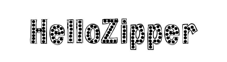 HelloZipper  baixar fontes gratis