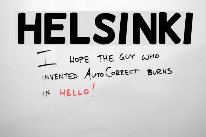 Helsinki Font examples