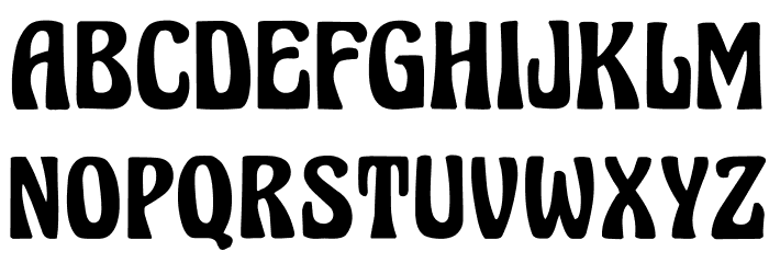 Herkules Font UPPERCASE