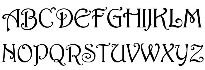 HermosaOpti Font UPPERCASE