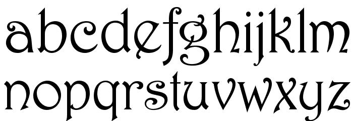 HermosaOpti Font LOWERCASE