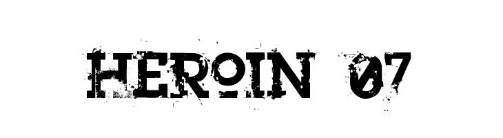 Heroin 07  Fuentes Gratis Descargar