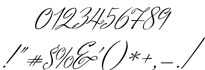 Herr Von Muellerhoff Regular Font OTHER CHARS