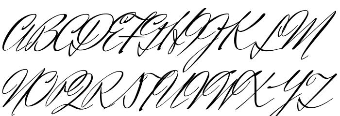 Herr Von Muellerhoff Regular フォント 大文字