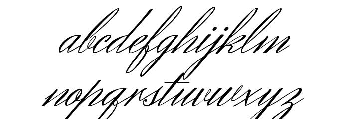 Herr Von Muellerhoff Regular フォント 小文字