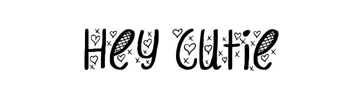 Hey Cutie Font