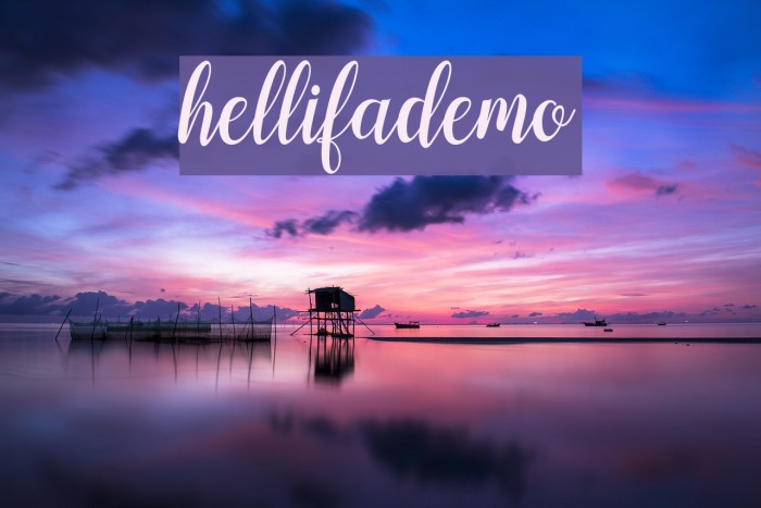 hellifademo Fonte examples