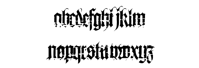 Heresy Font Free Fonts