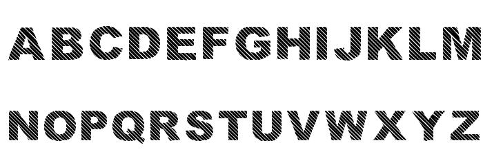 Highlight_linesandoutli Regular Font UPPERCASE
