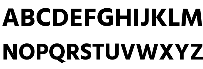 Hind Bold Font UPPERCASE