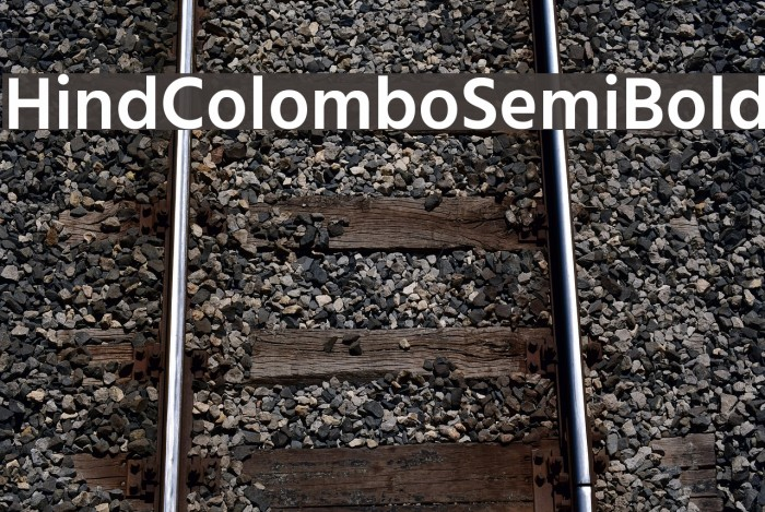 Hind Colombo SemiBold Font examples