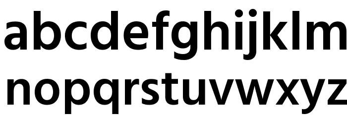 Hind Colombo SemiBold Font LOWERCASE